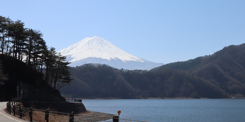 帰り道の富士山