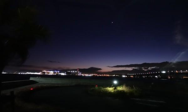 冬の知多半島プチ旅 セントレアの夜景