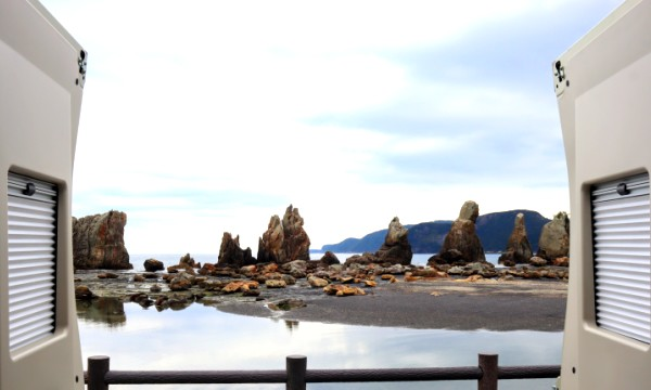 三重和歌山の早春旅 橋杭岩2