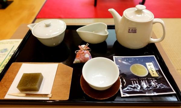 川根本町・茶と鉄と水の旅 フォーレなかかわね茶茗舘1