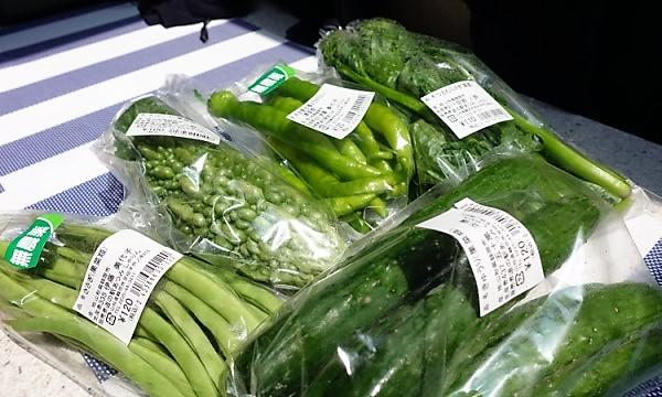 キャンピングカーで夏の長旅 道の駅あつみの新鮮夏野菜