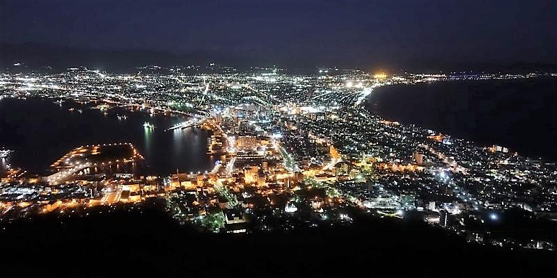 北海道東北旅2020 10月の函館の夜景