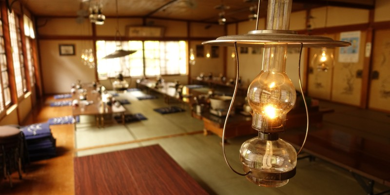 北海道東北旅2020 東北編ヘッダー ランプの宿にて