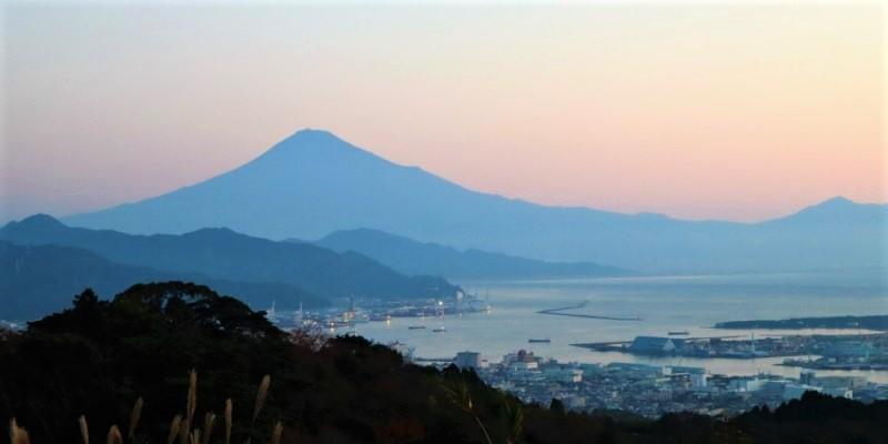富士山遠望・静岡中部の旅2020 日本平からの富士山