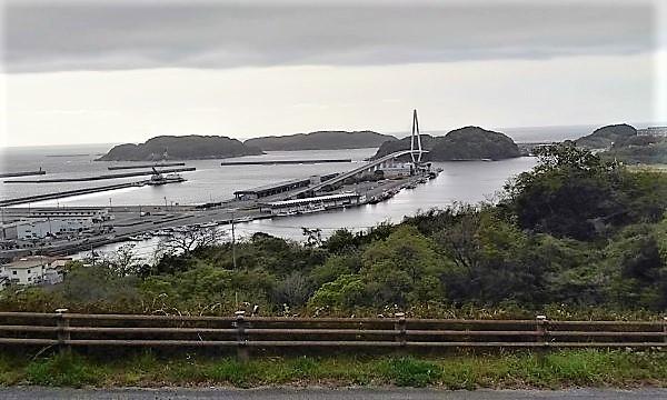 2021近畿~山陰大横断の春旅 道の駅ゆうひパーク浜田からの眺め
