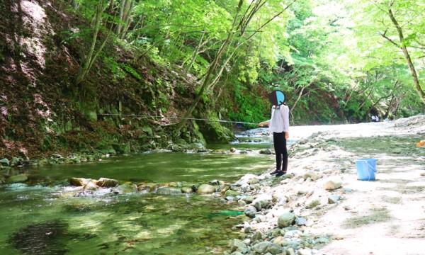 2021みちのく夏紀行 三依渓流釣り場の風景