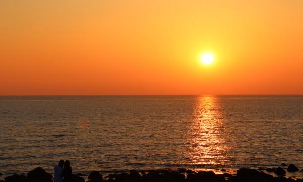 2021みちのく夏紀行 金色の夕陽