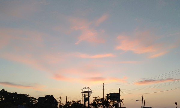 2021みちのく夏紀行 道の駅もりたの夕景